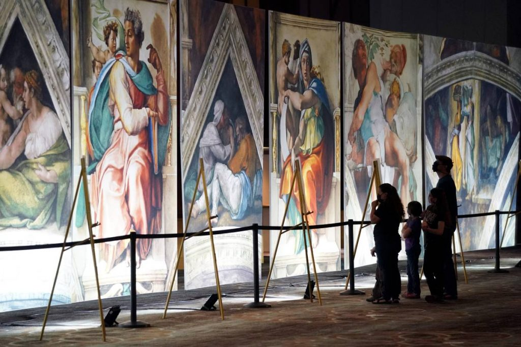 The Highly Anticipated, Life-Size Sistine Chapel Exhibition Is Open Now In Omaha